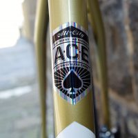 Ace! Phil's custom All City Cosmic Stallion
