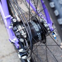 Purple Karate Monkey with Rohloff hub