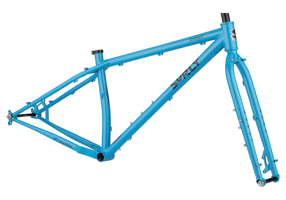 Surly Krampus 2020 Frameset in Blue