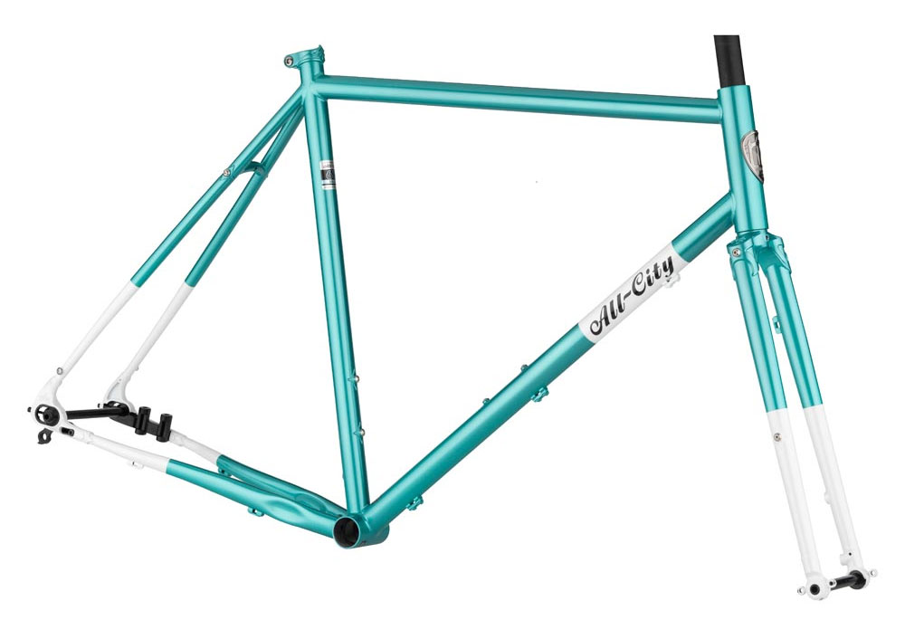 All City Super Professional frameset in Teal
