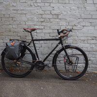 Brooks tape and saddle, Ortlieb Gravel panniers